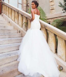 Mermaid and Trumpet Wedding dresses by Lilly Bridal